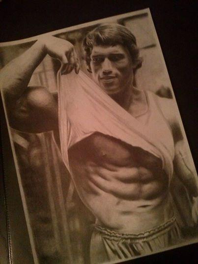 Arnold Schwarzenegger by Denniz83